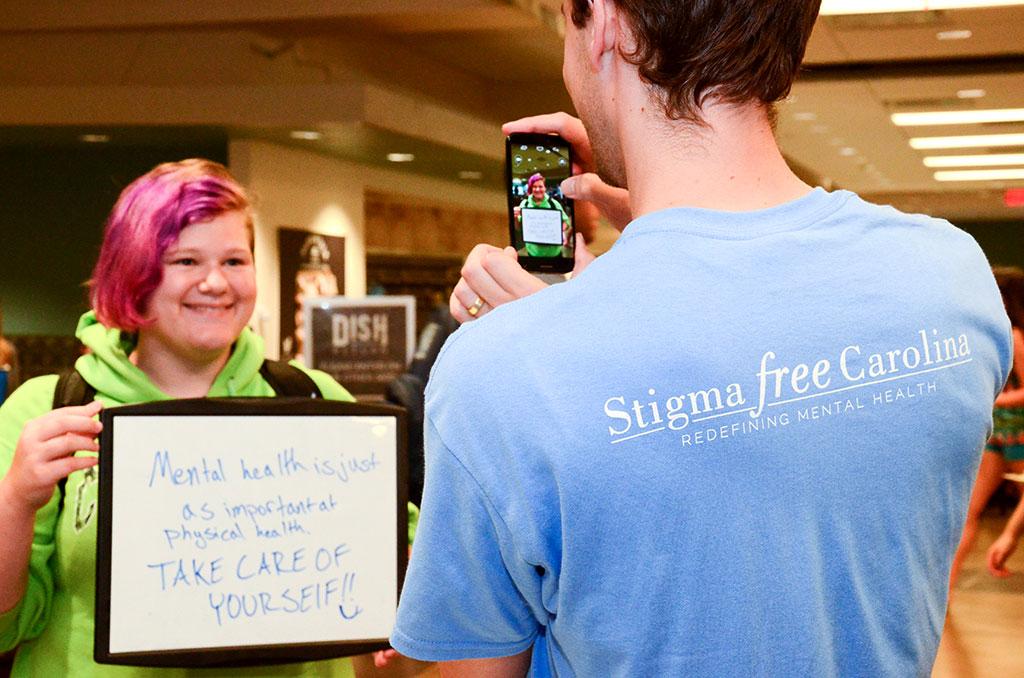 Grad Students Fight Mental Health Stigma Carolina Graduate School