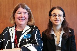 Pam Hemminger and Jessica Soldavini